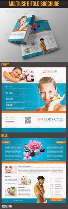 Design beautiful spa brochures and Create Brand spa massage services with themed brochure templates.Design your own day spa brochure online Spa Brochure, Brochure Online, Microsoft Word Resume Template, Brochure Template, List Template, Templates Free, Spa Prices, Spa Menu, Graphic Design Brochure