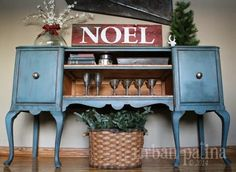 I'm Urban Patina™: Rescued Relics + Upcycled Junk: Blue Christmas Inspiration