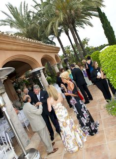 Private Party at the Mansion in Sierra Blanca, Marbella  (www.marbellaluxurylife.com)