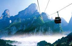 Mont Tianmen, Chine
