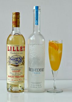 The Great Gatsby Cocktail: 30ml vodka, 30ml Lillet, 75ml freshly squeezed grapefruit juice