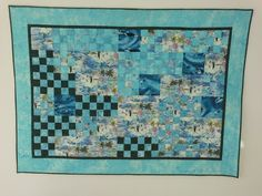 Dolphin quilt, made after a nice experience of swimming with dolphins. I used the patchworktechnique from the book Pizzazz from Judy Sisneros Dolphins, Patches, Swimming, Quilts, Blanket, Nice, Book, Swim, Quilt Sets