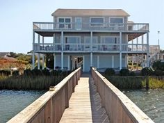 VRBO.com #284654 - Ocean Isle Beach 5 BR Home with Private Pool, Amazing View, NEXT YEAR :-)
