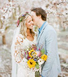 Stylish Oregon Farm Wedding: Thea + Colin | Green Wedding Shoes | Weddings, Fashion, Lifestyle + Trave