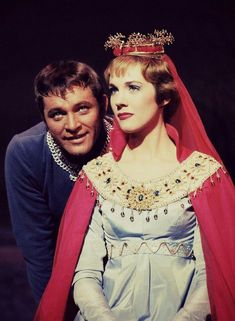 Julie Andrews: In 1960, Lerner and Loewe cast her in a period musical as Queen Guinevere in Camelot, with Richard Burton and newcomer Robert Goulet in the stage performance of CAMELOT