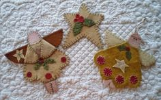 penny rug patterns free | free images of christmas ornies to make | ... | Feelin' A Little Bit ...