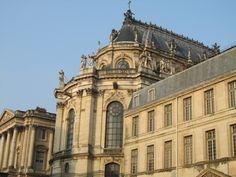 Versailles, France - Versailles Palace exterior of the Royal Chapel where Louis XVI and Marie Antoinette were married