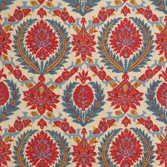 brunschwig & fils fabric medallion print - Google Search
