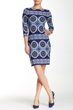 Printed Sheath Dress by Maggy London on @nordstrom_rack