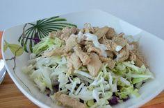 Salada de Peru com Sementes de Sésamo