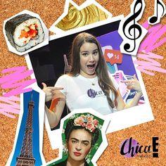 Ella es @feraltuzar su comida favorita en el mundo es el sushi. ¿Le preguntarías algo a Fer? #ChicaEMéxico ♥