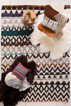 Need a style boost? Opt for our Atticus rug and coordinating accessories for a colorful, cohesive living space! (ATI-1000)