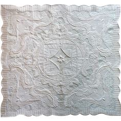From the Bride's Trousseau by Margaret Solomon Gunn.  Best Longarm Machine Quilted Award.  2015 AQS Quilt Week, Grand Rapids.