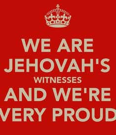 Jw and proud