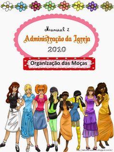 As Tontas Vão Ao Céu: Organização das Moças - Capa para Manual de Admini...