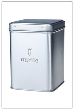 Aurile Tea Can £6.99. This 600ml Tea Can is an airtight stainless steel container. It is not only practical, but also elegant – it will be a real decoration in your kitchen. Tea stored in the can will maintain its fresh aroma for longer.