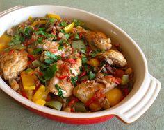 recipes magazine: Basque chicken