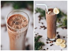 banánové smoothie s kávou Smoothies, Coffee Maker, Drinks, Tableware, Recipes, Food, Relax, Coffeemaker, Beverages