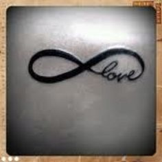 Love infinity, want this as a tatoo!