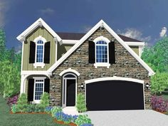 Eplans Traditional House Plan - Four Bedroom Traditional - 2214 Square Feet and 4 Bedrooms(s) from Eplans - House Plan Code HWEPL66792