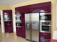 www.szepseghibas.com French Door Refrigerator, French Doors, Kitchen Appliances, Home, Diy Kitchen Appliances, Home Appliances, Ad Home, Homes, Kitchen Gadgets