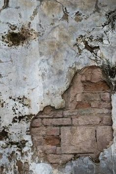Old Concrete wall - Cracked concrete old brick wall background. Old Brick Wall, Faux Brick, Old Wall, Brick And Stone, Wooden Wall Art, Stucco Walls, Plaster Walls, Cracked Wall, Brick Wall Background