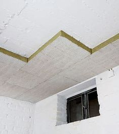 The subsequent insulation of basement ceilings is a simple and economical measure to save heating energy. Insulated … - Do It Yourself China Cabinet Makeovers, Decor Interior Design, Interior Decorating, Diy Projects To Sell, Cool Tools, Building Materials, Fixer Upper, Insulation, Home And Garden