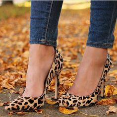 We've fallen in love with leopard Carra pumps, available at @nordstrom