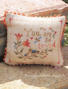 The Snowflower Diaries: New Design: You Are So Loved