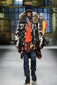 DSquared2 Autumn/Winter 2017 Menswear Collection | British Vogue