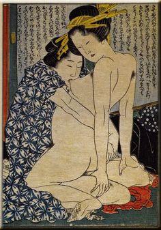 Image result for shunga two women making love