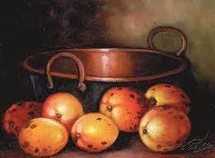 Resultado de imagen para pintura em tela frutas