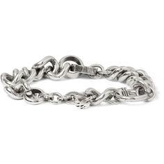 Maison Martin Margiela Brass Chain Bracelet (€175) ❤ liked on Polyvore featuring mens, men's jewelry, bracelets and men
