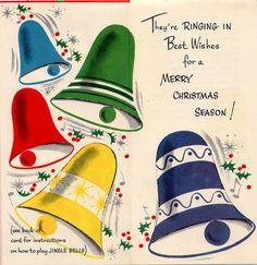 Vintage Christmas Bells!
