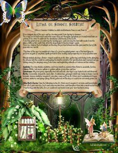Litha - Pagan Holiday information page