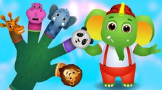 Five Little Fingers, Finger Family Song & Many More Popular Nursery Rhymes and Kids Songs   ChuChuTV - YouTube