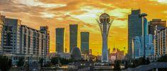 Bajterek-Turm in Astana, Kasachstan