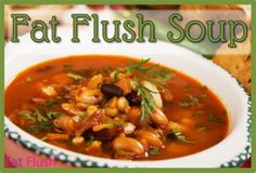 Fat Flush Soup Diet!!  After a week in JH gotta get ready for this weekend at the beach!!