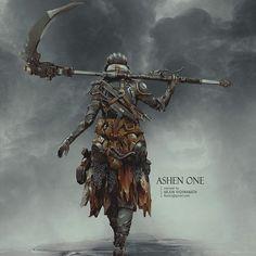 Dark Souls con un toque futurista por Arjun Vishwanath. #DarkSouls #DarkSouls3 #ArjunVishwanath