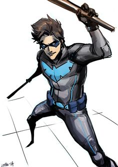 Nightwing by sottapop