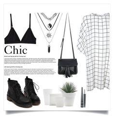 """Chic"" by luckyauliya ❤ liked on Polyvore featuring Glamorous, Chicnova Fashion and MAC Cosmetics"