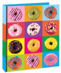 """Designový pořadač Kollekce """"Vařte s Majklem"""" Doughnut, Donuts, A4, Desserts, Food, Products, Frost Donuts, Tailgate Desserts, Deserts"""