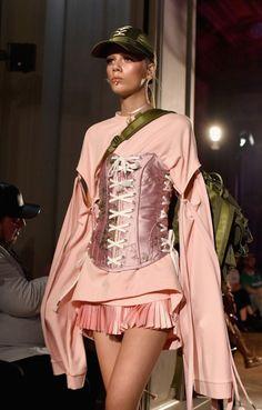 "forlikeminded: ""Fenty Puma by Rihanna | Paris Fashion Week | Spring 2017 Model: Marjan Jonkman """