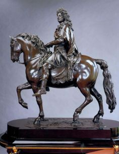 François Girardon Statue of Louis XIV on Horseback Probably cast by Jean Le Pileur Pedestal by Pierre-Philippe Thomire Paris 1696 Horse Sculpture, Abstract Sculpture, Bronze, Equestrian Statue, Conceptual Drawing, Windsor, French History, Museum, Plastic Art