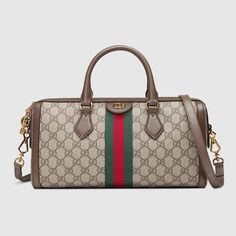 c54567cf5f1 Ophidia GG medium top handle bag in Gucci Supreme  1980