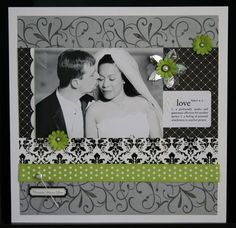 scrapbook layout by frances