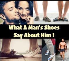 What A Man's Shoes Say About Him