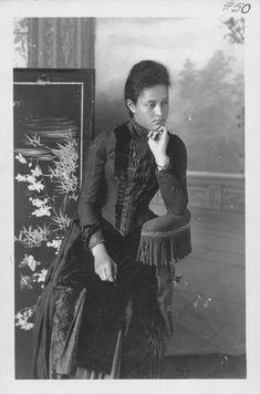 Kaiulani, Princess of Hawaii, 1875-1899. At 16 years old.  (circa 1891)