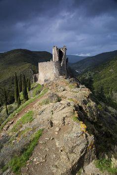 Lastours Castle, France, By Ruben Vicente