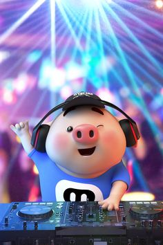 Pig Wallpaper, Disney Wallpaper, This Little Piggy, Little Pigs, Pig Images, Cute Piglets, Happy Pig, Pig Illustration, Cute Cartoon Characters